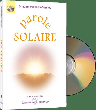 Parole Solaire (CD audio et livret)